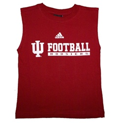 ADIDAS Toddler Crimson Indiana Football Sleeveless T-Shirt