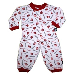"ADIDAS Indiana Hoosiers ""All Over"" Toddler Pajama Set"