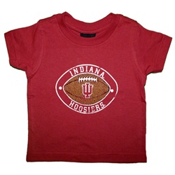 "ADIDAS Toddler Indiana Football ""Texture"" T-Shirt"