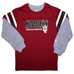 ADIDAS Boys Toddler Longsleeve Indiana Thermal Layered Tee