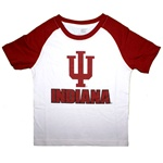 Colosseum Toddler Slub Cotton Indiana IU Raglan T-Shirt