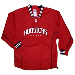 ADIDAS Youth Crimson Indiana DP Pullover Hot Jacket