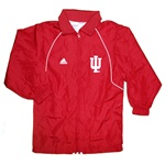 ADIDAS Youth Crimson Full Zip Wind Jacket