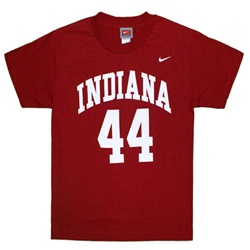 NIKE Crimson INDIANA #44 Youth T-Shirt