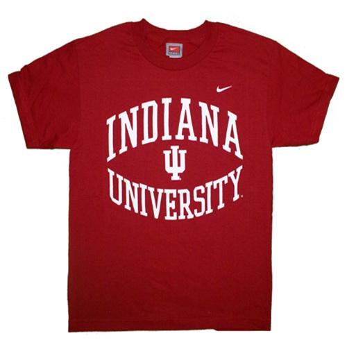 Nike youth crimson indiana university t shirt for Indiana basketball t shirt