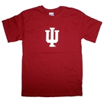 "Youth Crimson Indiana ""IU"" T-Shirt"