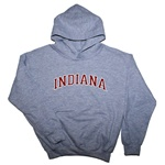 Youth Grey INDIANA Hooded Sweatshirt