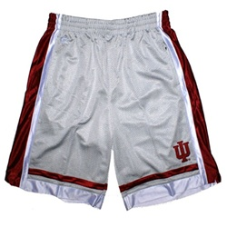 "Youth Colosseum Grey Indiana Hoosiers IU ""Staple"" Basketball Shorts"