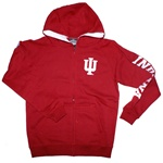 "Youth Crimson Full Zip ""Automatic"" Hooded Sweatshirt from Colosseum"