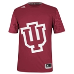 ADIDAS IU Crimson ON-COURT Short Sleeved Shooter Technical Tee