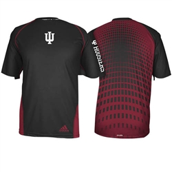 ADIDAS IU TOXIC Black Performance Short Sleeved T-Shirt