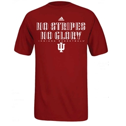 "ADIDAS Crimson IU ""No Stripes No Glory"" T-Shirt"