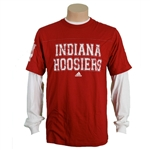 Youth LONGSLEEVE ADIDAS Crimson INDIANA 3 in 1 Combo Shirt