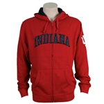"Crimson INDIANA  Full Zip Hooded ""GAMETIME"" Sweatshirt from ADIDAS"
