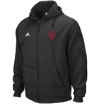 Adidas IU Pindot Full Zip Hooded Polyester Microfleece