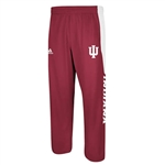 ADIDAS Crimson IU INDIANA Climawarm Player Warm Up Pants
