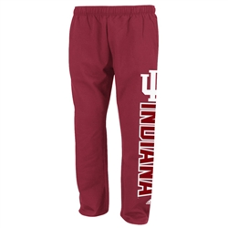 ADIDAS Victory Red IU HOOSIERS Fleece Sweatpants