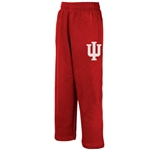 ADIDAS Boys Crimson Fleece Indiana Pants
