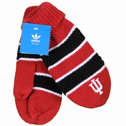 ADIDAS Crimson and Black Striped Varsity 'IU'