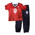 ADIDAS Infant Crimson 2 Piece Football Set Jersey