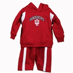 Indiana Infant 2 Piece Fleece Hoodie & Pants Set