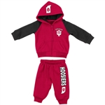 "Indiana Infant ""Charger"" Hoodie and Pant Set from Colosseum"