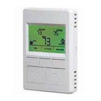 Honeywell TR70 ZIO LCD Wall Module (Temperature)