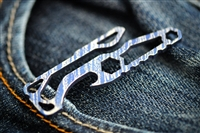 Pickpocket Torq- Titanium Bottle Opener/Pocketclip