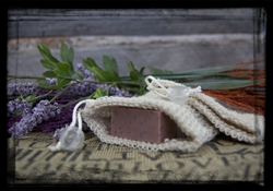 Natural Sisal Soap Pouch