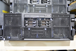 IBM SYSTEM X3850 M2 4X E7430 QUAD CORE 2.13GHz 2x 146GB SAS RACK SERVER 7233