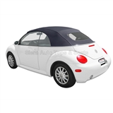 VV Beetle Convertible Top, German A5, Titan Grey, Power Opening Top Frame