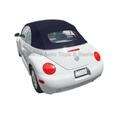 VW Beetle Convertible Top, Stayfast,Blue