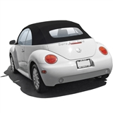 VV Beetle Convertible Top, German A5, Black, Power
