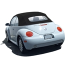 VW Beetle Convertible Top, Stayfast,Black