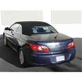 Chrysler Sebring 2008-2012 Black Convertible Soft Top