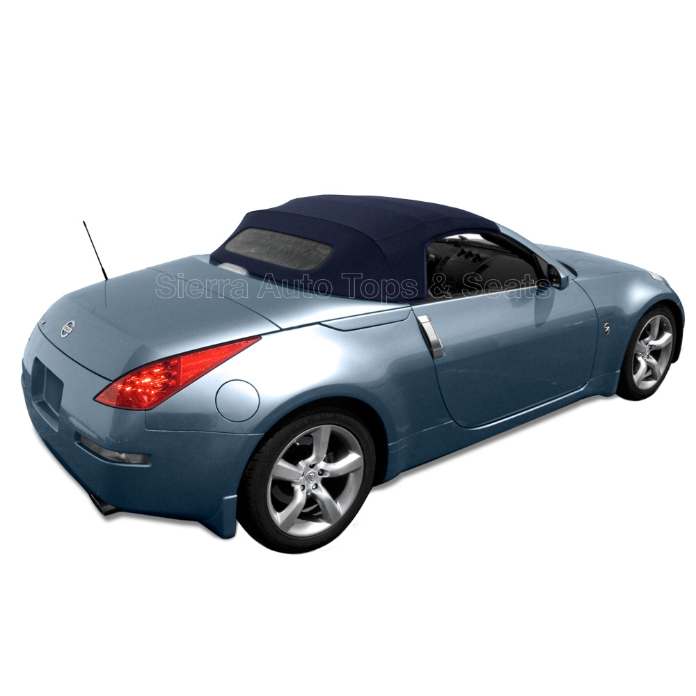 2004-2009 nissan 350z stayfast blue convertible top