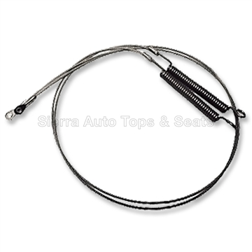 1990-1997 Mazda Miata Convertible Tension Cables