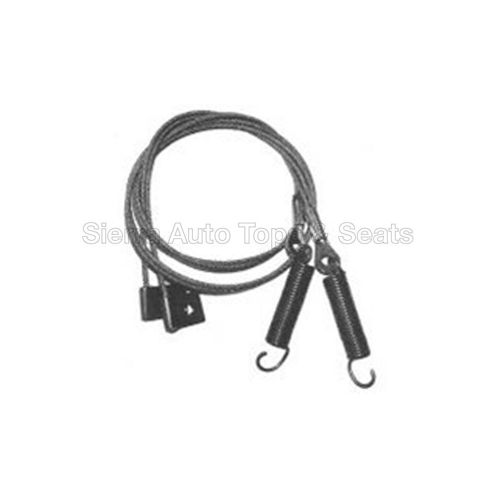1999-2005 Mazda Miata Convertible Side Tension Cables