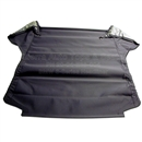 BMW E36 Headliner, Charcoal, 3 Tube, 3/4 Length Front Heat-seal with Plastic on both sides