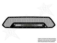 Rigid Industries '12+ Toyota Tacoma Grille Kit, Black (for use w/20 in. LED SR-Series Light, sold separately)