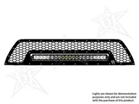 Rigid Industries '10+ Toyota 4Runner Upper Grille Kit, Black (for Use w/20 in. LED SR-Series Light, sold separately)