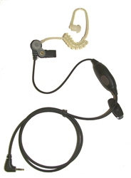 Steward Coiled Tube Earpiece for Vocera, Ascom, 2.5 Cell