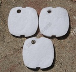 3 pcs Fine Pads For HW-302 Filter & AQUATOP CF-300 Filter