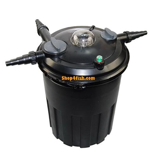 Jebao bcf 15000 bio pond filter 24 watt uv clarifier for Pond bio filter