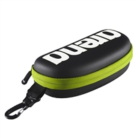 Arena Goggle Case Black - Silver - Fluo Yellow Rapid Swimshop
