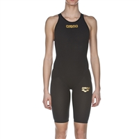 Rapid Swimshop Arena Powerskin Carbon Flex VX Openback Kneesuit Grey/Black