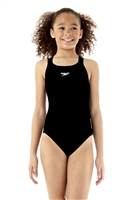 Rapid Swimshop Speedo Endurance+ Medalist Swimsuit Black - Girls