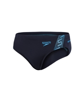Rapid Swimshop Speedo Endurance+ Monogram 7cm Swim Brief Navy - Youth