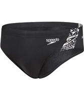 Rapid Swimshop Speedo Endurance+ 7cm Brief Boom Splice Black/White
