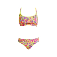 Funkita Sport top and Brief Bound up - Ladies Rapid Swimshop